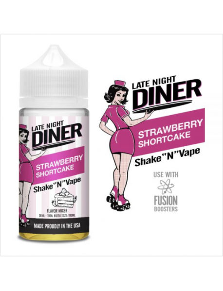Capsuni 50ml - Late Night Diner USA