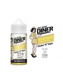 Lichid Late Night Diner - Bananas Foster Pie 50ml