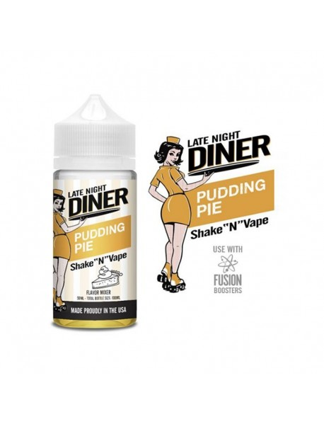 Lichid Late Night Diner - Pudding Pie 50ml