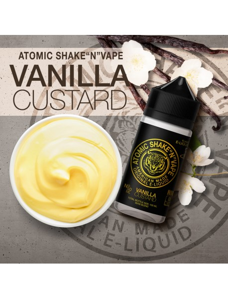 Atomic Vanilla Custard 50ml - fara nicotina