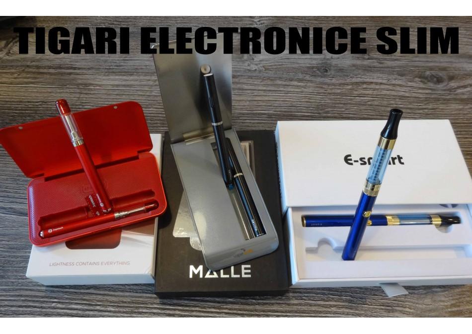 Tigara electronica SLIM - subtire, discreta, eleganta, rafinata!