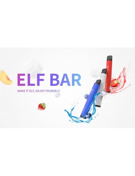 Elf Bar Capsuna Banana, 600 pufuri, 20mg