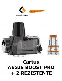 Cartus Geekvape Aegis Boost Pro 6ml + 2 buc. rezistente