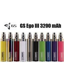 Baterie GS eGo III 3200mAh - inox