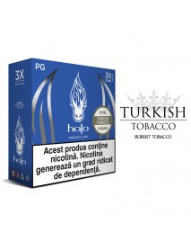Turkish tobacco Halo 3 x 10ml - 0mg
