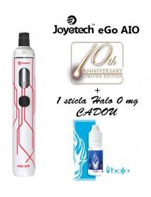 Joyetech eGo AIO 1500 mAh Editie aniversara - alb