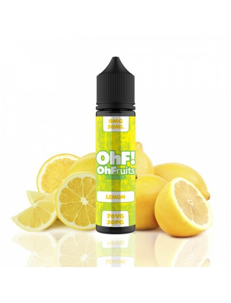 OHF Lemon 50ml fara nicotina