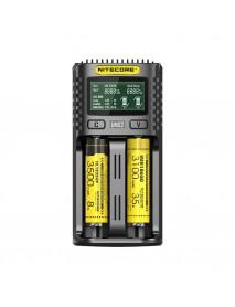 Incarcator acumulatori Nitecore UMS2, priza si USB
