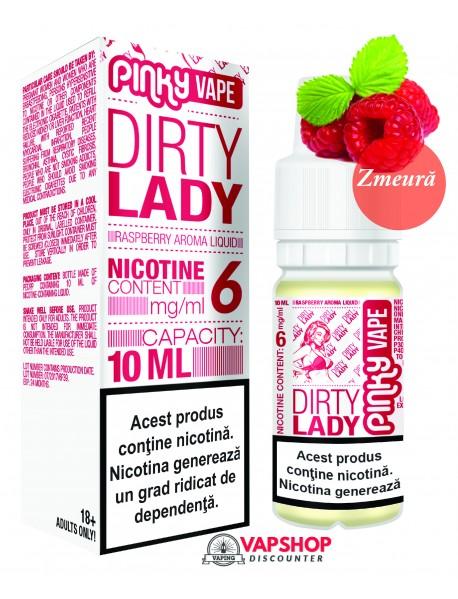 Pinky Vape Zmeura  10ml - Dirty Lady