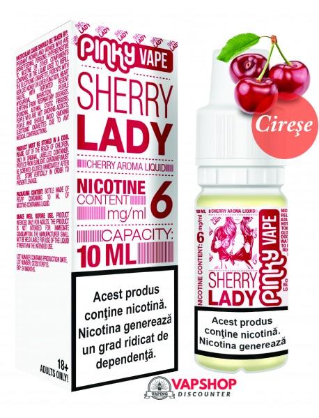 Pinky Vape Cirese 10ml - Sherry Lady