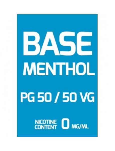 Baza 100ml aroma menthol - 0% nicotina