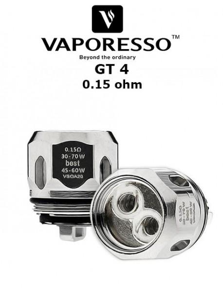 Rezistenta GT4 0.15 ohm - Vaporesso