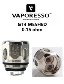 Rezistenta GT4 MESHED 0.15ohm - Vaporesso
