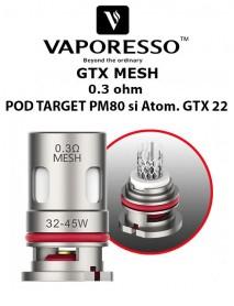 Rezistenta GTX MESH 0.3 ohm - Vaporesso