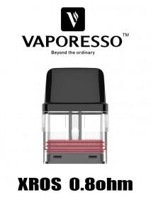 Cartus Vaporesso XROS 0.8ohm